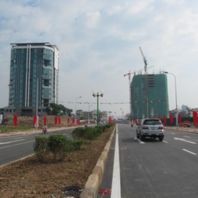 Trục thương mại phát triển các chuỗi đô thị phía Bắc quận Hà Đông dần hiện hữu