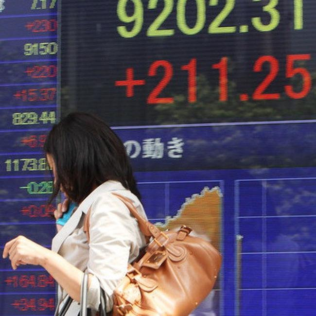 Chuỗi 7 tuần tăng điểm trên TTCK châu Á chấm dứt