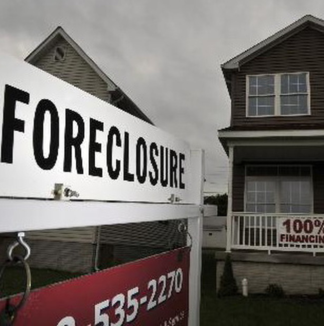 Ngành ngân hàng Mỹ có thể mất 80 tỷ USD do khủng hoảng thu hồi nhà