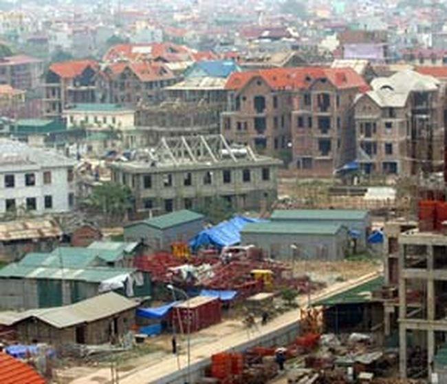 Ngổn ngang các dự án BĐS phía Tây Hà Nội
