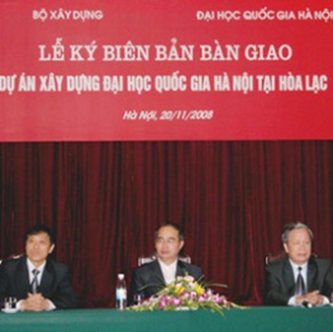 Trình Thủ tướng giải pháp huy động vốn dự án ĐHQG Hà Nội