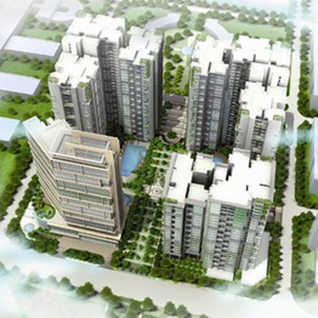 Dự án hơn 1.000 căn hộ cao cấp tại Trung Hòa Nhân Chính chuẩn bị ra mắt thị trường