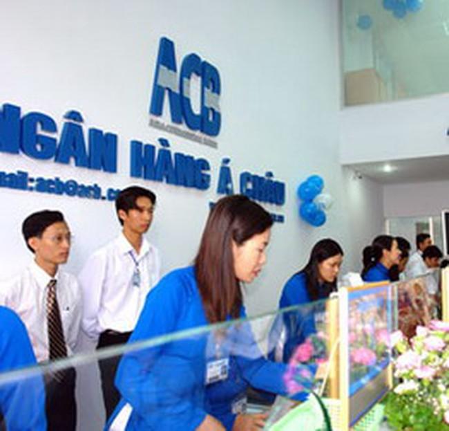 ACB: LNTT 9 tháng đầu năm 2010 đạt 2000 tỷ đồng