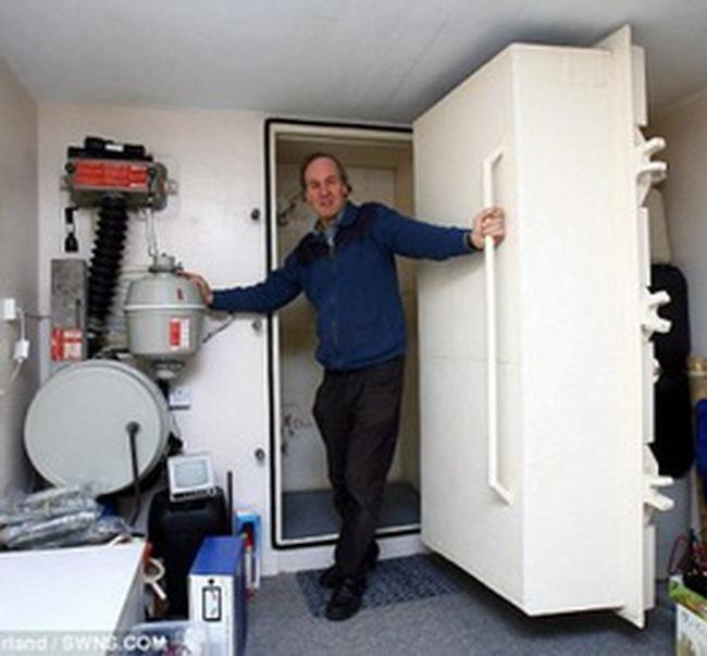 Bán căn hộ chống bom nguyên tử với giá 550.000 USD