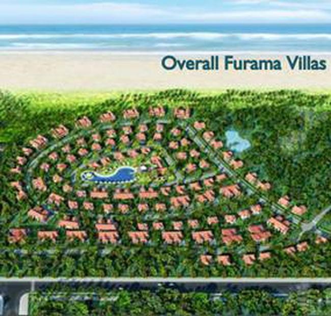 Biệt thự Furama Villas có giá dao động khoảng 2.000 USD/m2