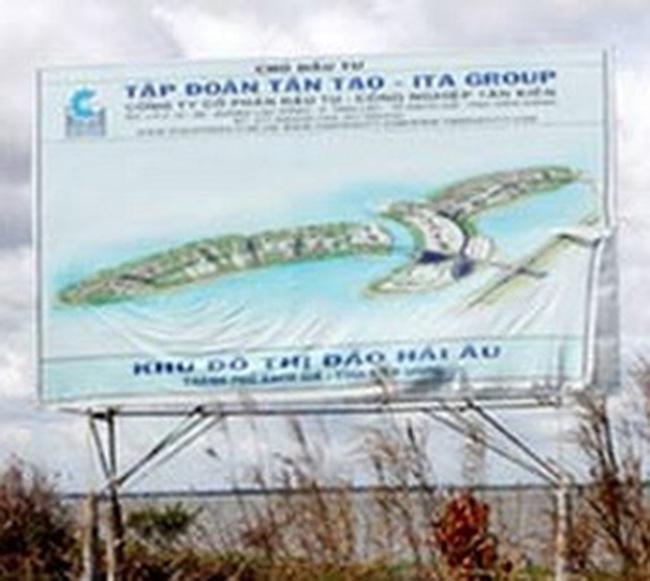 ITA: Dừng thực hiện xây dựng Đảo nhân tạo Hải Âu