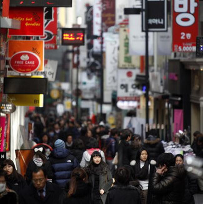 Thất vọng với tăng trưởng GDP quý 3 của Hàn Quốc