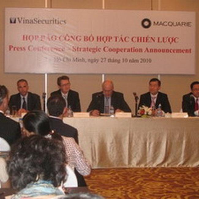 Tập đoàn tài chính Macquarie đầu tư vào Việt Nam