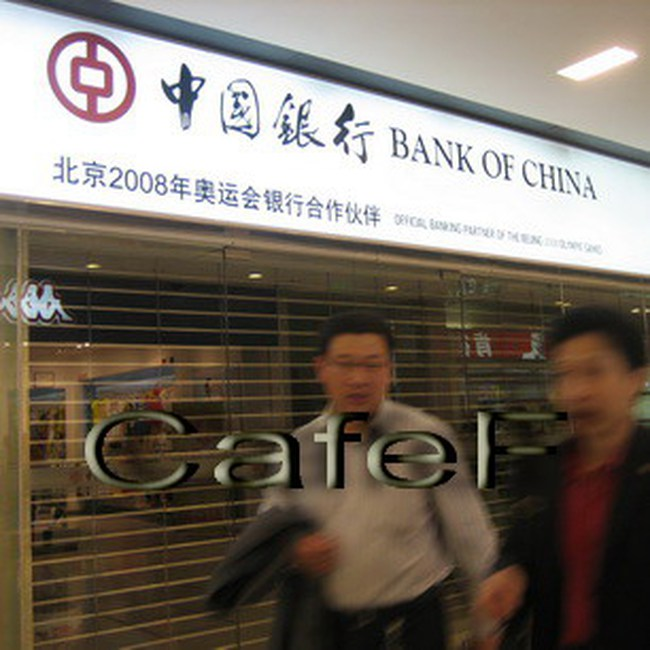 2 ngân hàng hàng đầu Trung Quốc công bố lãi cao trong quý 3/2010