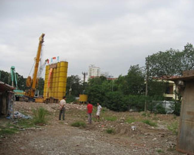 Trì trệ nhiều dự án cao ốc nội đô Hà Nội