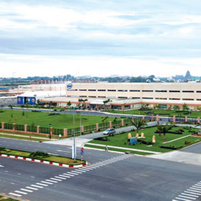 Nhà máy Intel Việt Nam đi vào hoạt động