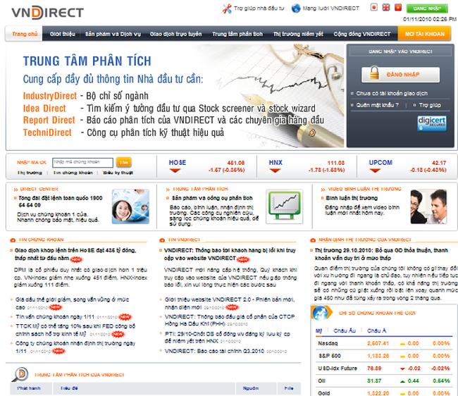 VND: Ra mắt Website phiên bản mới