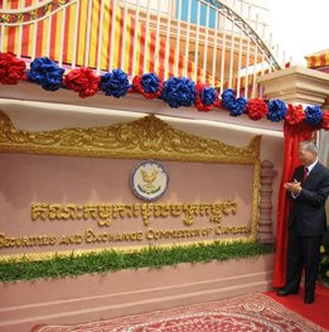 Campuchia cấp phép hoạt động cho 15 công ty chứng khoán