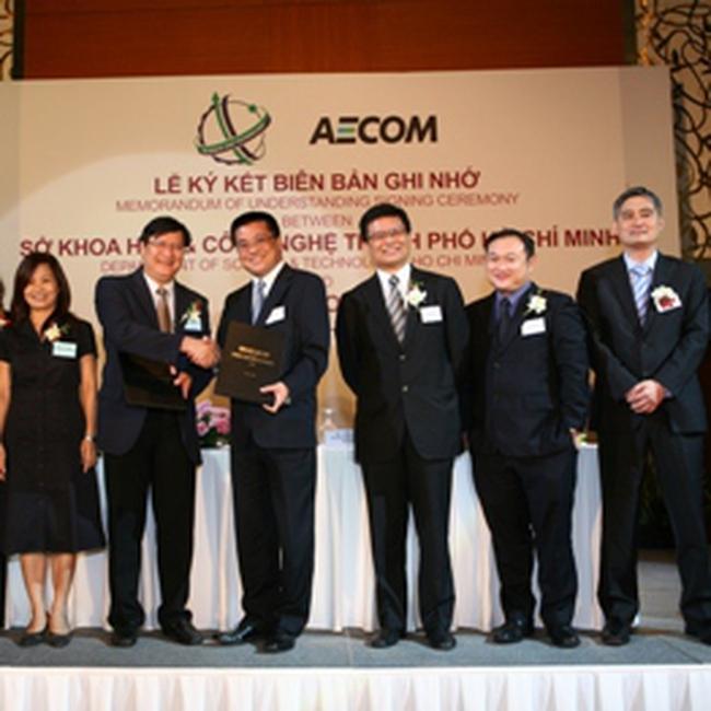Tập đoàn AECOM (Hoa Kỳ) hỗ trợ TP. HCM ứng dụng công nghệ xanh