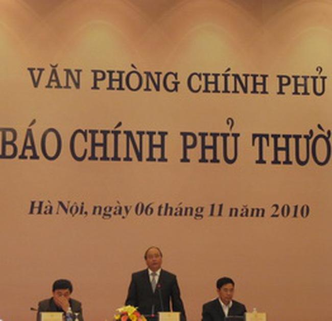 Chính phủ: Kiên quyết giữ CPI năm 2010 ở mức một con số