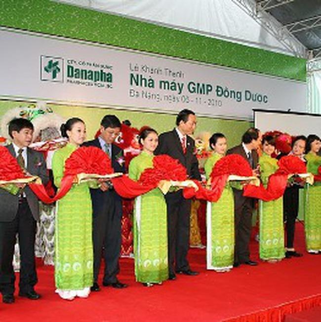 Khánh thành Nhà máy GMP-WHO Đông dược đầu tiên tại miền Trung