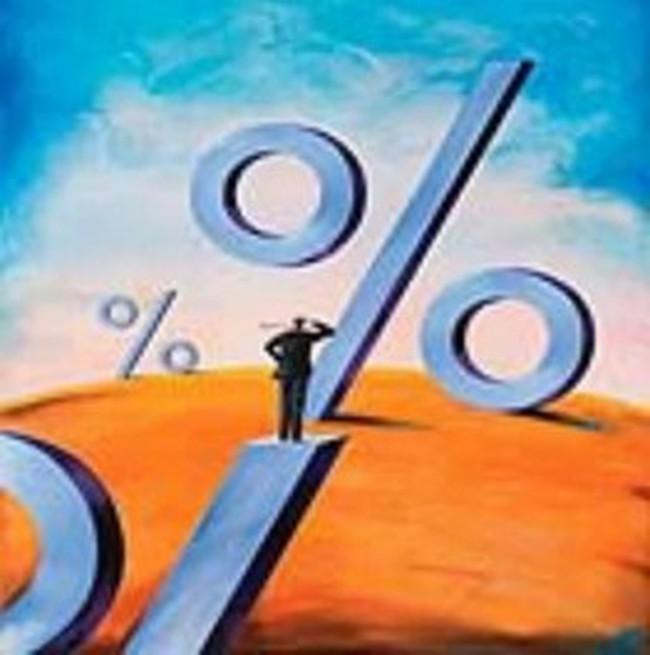 Chưa điều chỉnh, lãi suất qua đêm đã vọt trên 10%