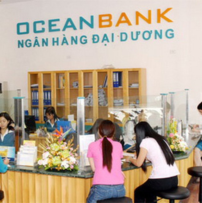 OceanBank: 10 tháng lãi 612 tỷ đồng