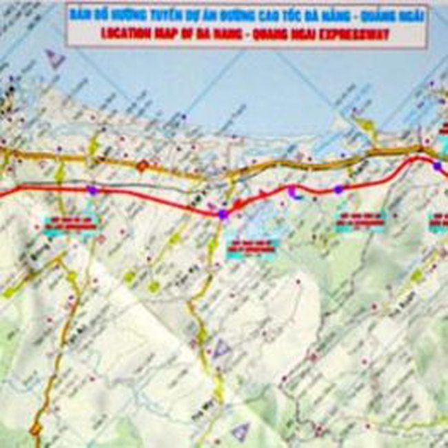 Đề nghị chỉ định thầu xây khu tái định cư đường cao tốc Đà Nẵng - Quảng Ngãi