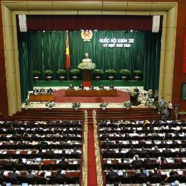 Năm 2011: Quốc hội thông qua bội chi bằng 5,3% GDP, phát hành 45.000 tỷ trái phiếu Chính phủ