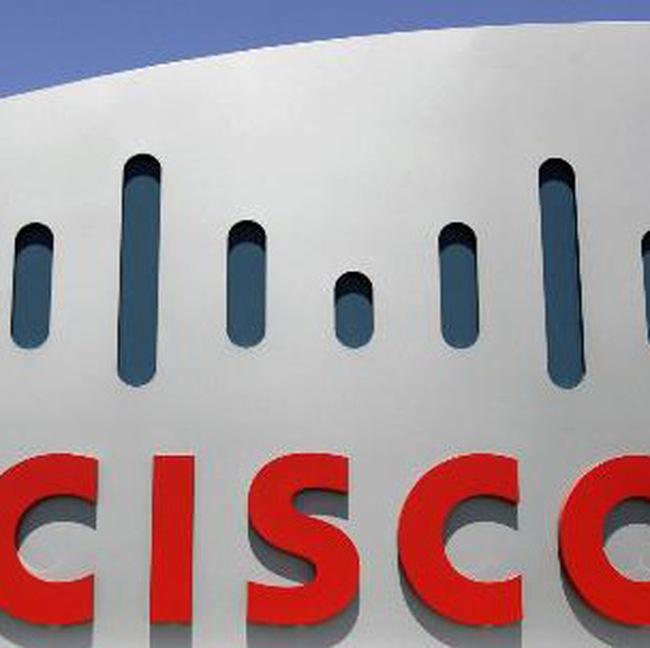 Thất vọng với dự báo lợi nhuận của Cisco