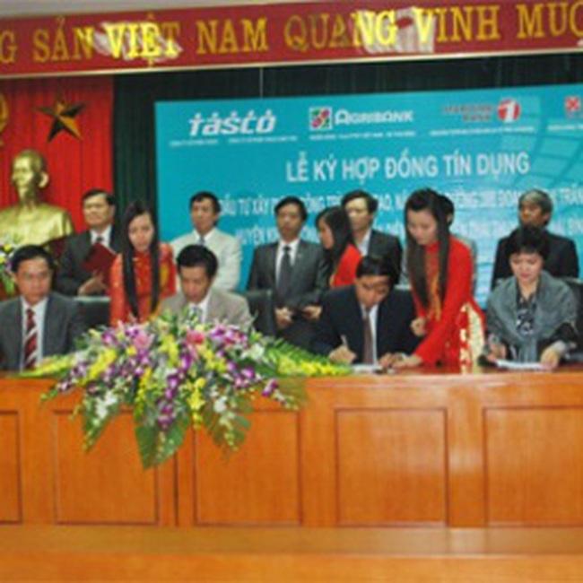 HUT: Ký hợp đồng tín dụng 1.800 tỷ đồng cho dự án đường 39B Thái Bình