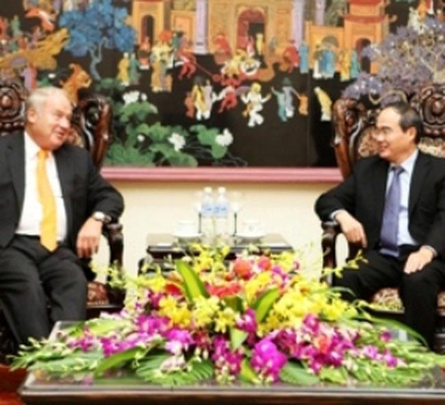 """""""Việt Nam là quốc gia mà Ngân hàng Credit Suisse ưu tiên hợp tác phát triển"""""""