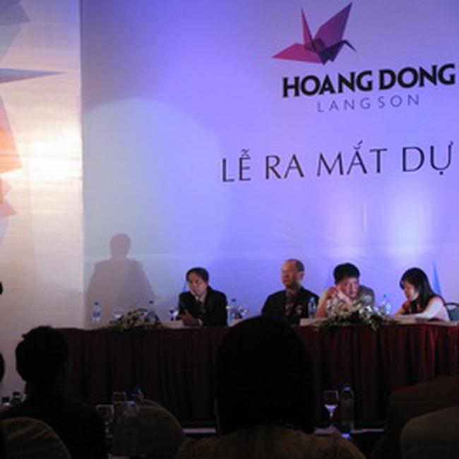 Xây Dự án Sân Golf Khách sạn Hoàng Đồng Lạng Sơn 2 tỷ USD tại Lạng Sơn