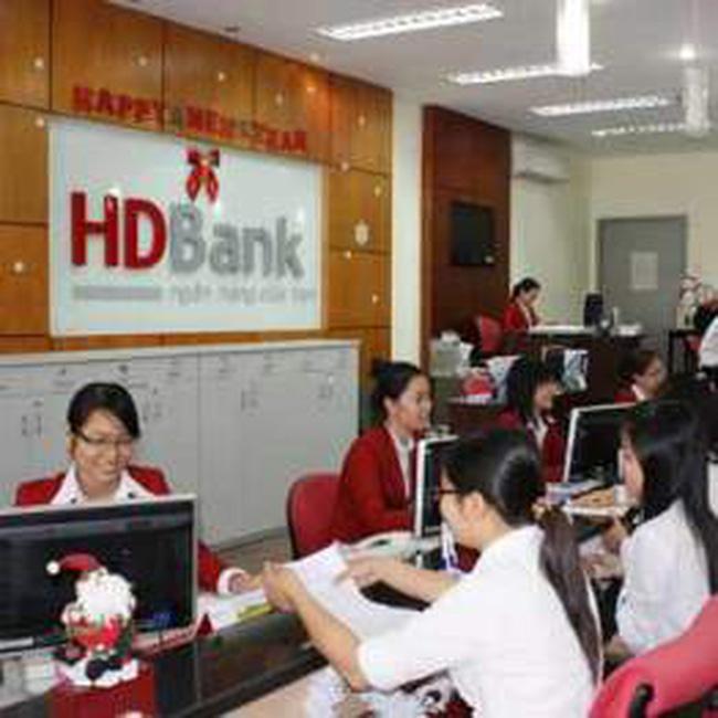 HDBank: 20/11 chốt quyền nhận cổ tức tỷ lệ 10%