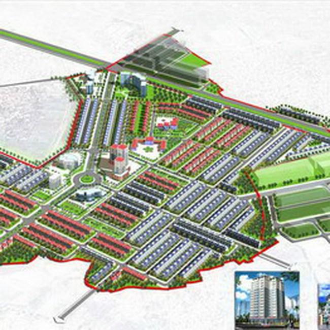 Cty CP Vạn Đức tự vẽ quy hoạch 1/500, chia lô bán đất Vân Canh