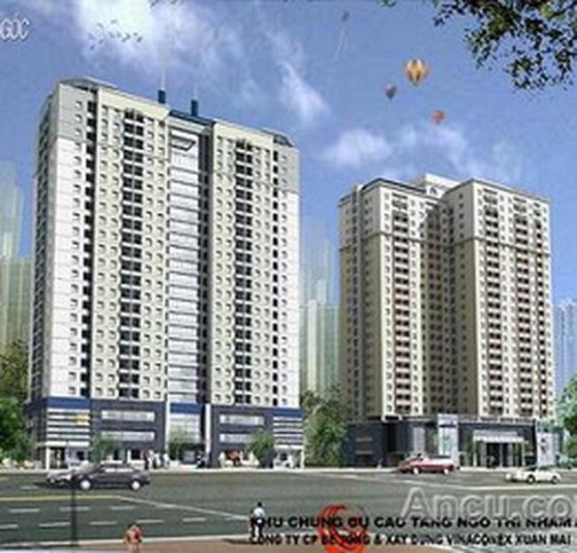 Bốc thăm quyền mua căn hộ thu nhập thấp CT1 Ngô Thị Nhậm