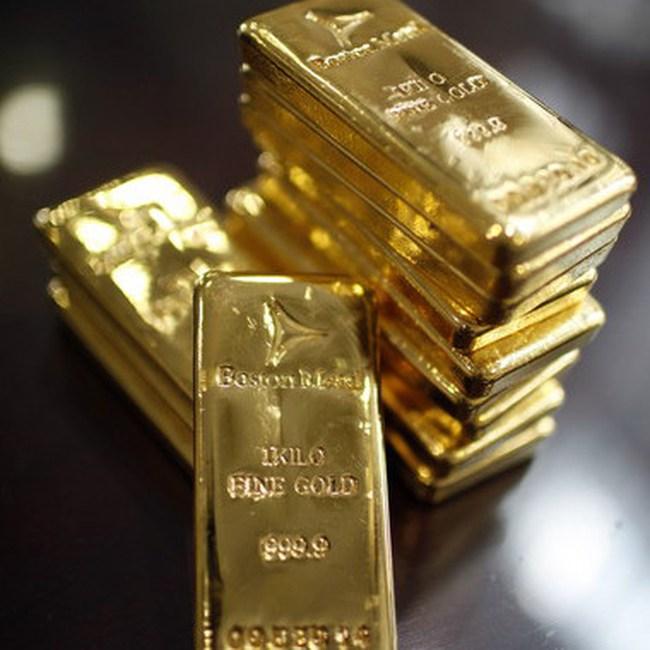 GFMS dự báo giá vàng sẽ vượt 1.500USD/ounce