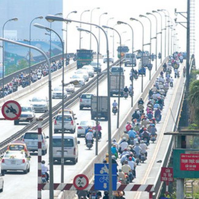 Đầu năm 2011 sửa chữa cầu Sài Gòn