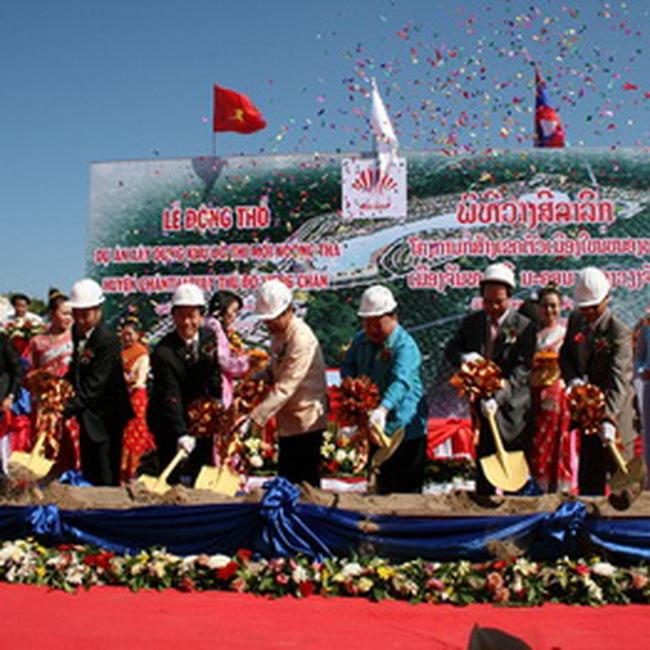 HDG: Động thổ dự án 250 triệu USD tại Lào