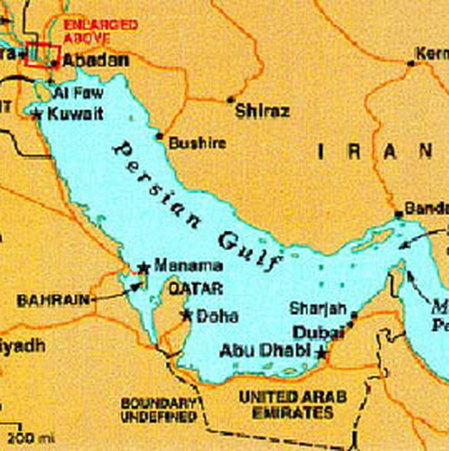 Iran phát hiện mỏ dầu 34 tỷ thùng tại vịnh Ba Tư