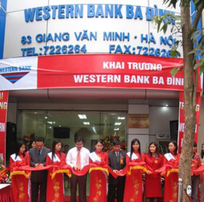Western Bank phát hành Kỳ phiếu ghi danh lãi suất 13,5%/năm
