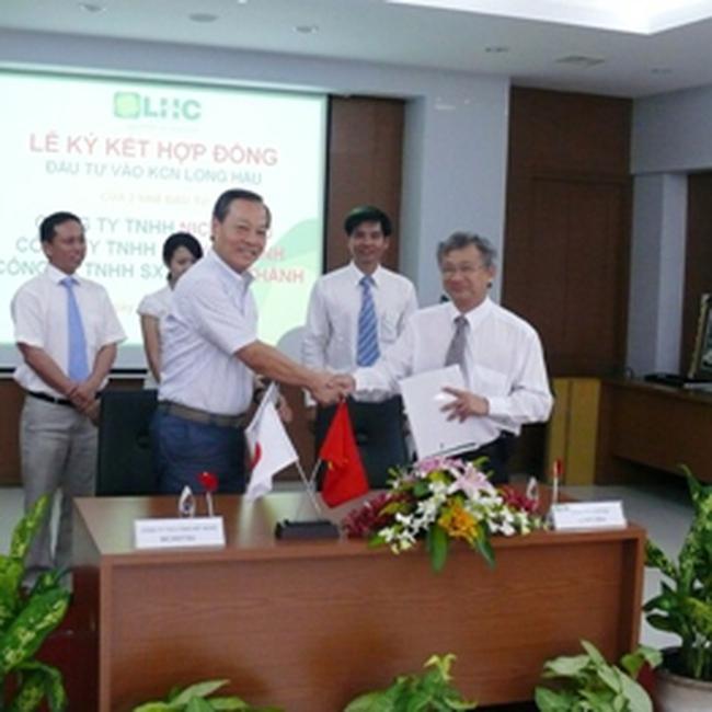 LHG: Ký hợp đồng cho 3 công ty thuê đất