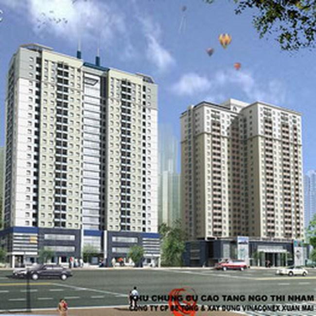 XMC: Trúng thầu 154 tỷ đồng thi công chung cư cao tầng tại Kiến Hưng