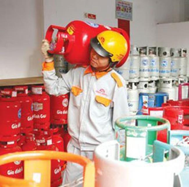 Ngày 1/12, gas tăng 38.000 đồng/bình 12 kg