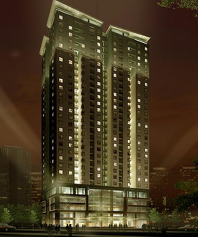 Tổ hợp Golden Palace: Dự kiến sẽ bán các căn hộ vào tháng 1/2011