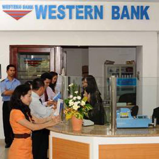 Western Bank: 10/12/2010 chốt quyền chào bán 100 triệu cổ phiếu