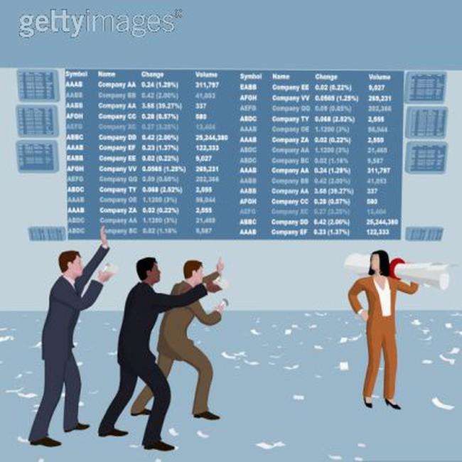 Các cổ phiếu tác động nhiều nhất làm Vn-Index giảm 1/12