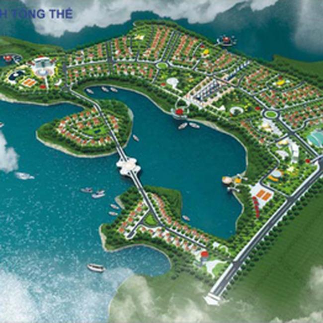 Biệt thự Paradise Đại Lải Resort tăng giá từ 1,5 – 2,5 triệu đồng/m2