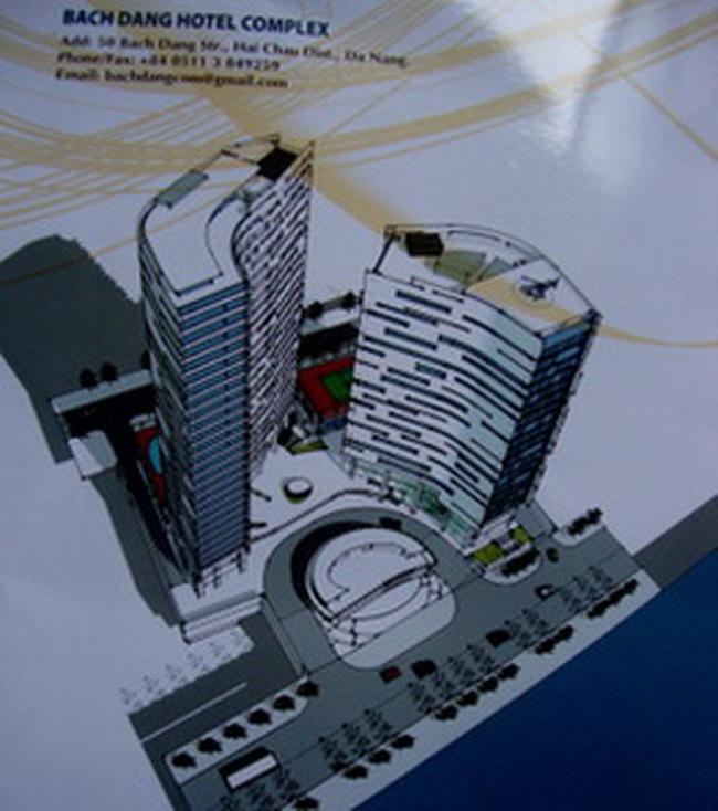 691 tỷ đồng đầu tư xây dựng Bach Dang Hotel Complex