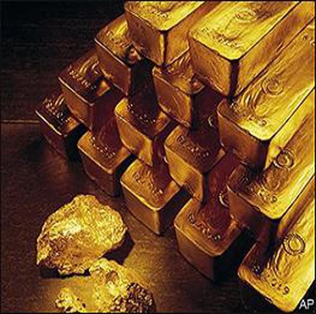 Giá vàng chạm mức cao gần sát 1.400USD/ounce