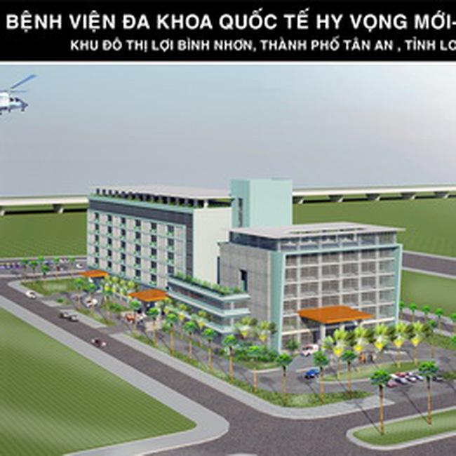 DRH: Điều chỉnh QHCT 1/500 dự án New Hope International General Hospital
