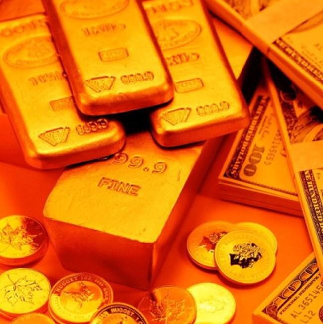 Giá vàng chốt ngày giao dịch ở 36,59 đồng/lượng, đôla Mỹ xuống dưới 21.200 đồng Việt Nam/USD