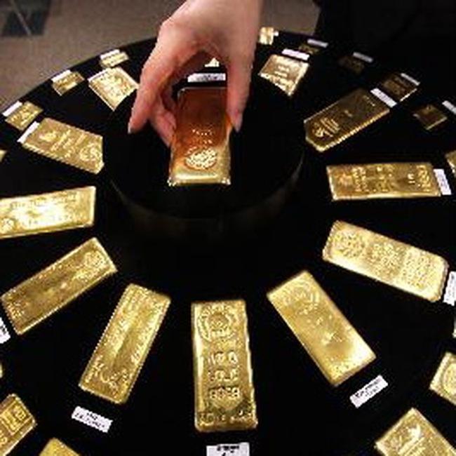 Giá vàng lập kỷ lục thế giới mới 1.429,40USD/ounce