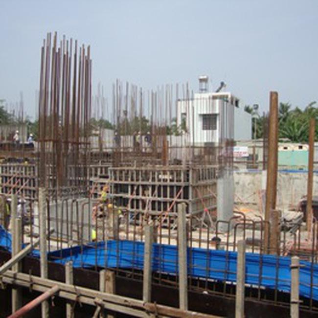 Lan Phương MHBR Tower: Đã hoàn thành phần hầm