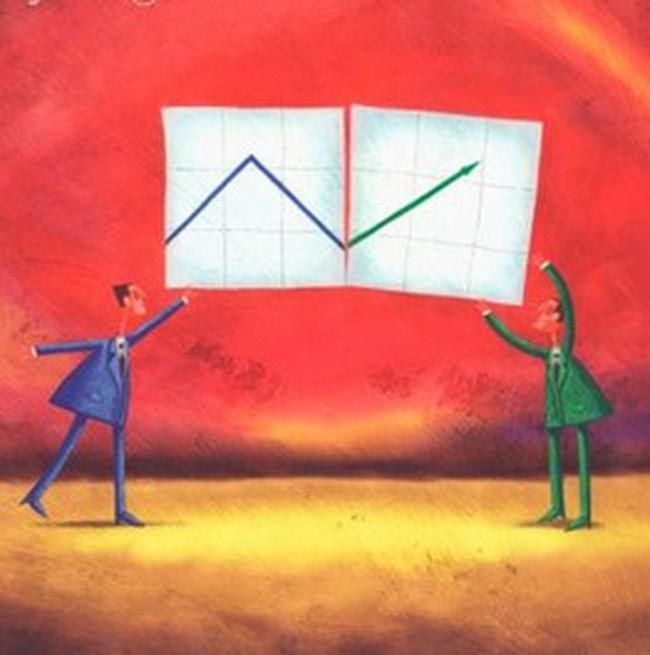 Thị trường tăng ồ ạt vào cuối phiên, VN-Index bất ngờ vượt 460 điểm